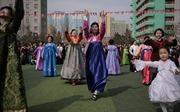 Hình ảnh hàng triệu người dân Triều Tiên đi bầu cử Quốc hội