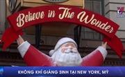 Không khí Giáng Sinh tại New York, Mỹ