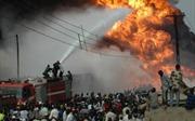 Cháy đường ống dẫn đầu ở Nigeria