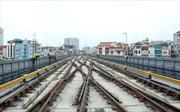 Cận cảnh tàu đường sắt Cát Linh - Hà Đông lăn bánh chạy thử toàn tuyến