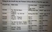 Vietnam Airlines và Jetstar Pacific phải điều chỉnh lịch bay do bão Trami