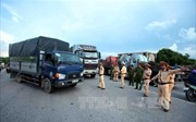 Tước gần 670 bằng lái trong số hơn 1.800 xe cố tình chở quá tải
