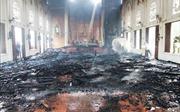 Hỏa hoạn thiêu rụi nhà thờ giáo xứ Thọ Vực