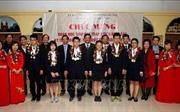 Tuyên dương đoàn học sinh đạt thành tích xuất sắc tại Kỳ thi Olympic Khoa học trẻ quốc tế IJSO