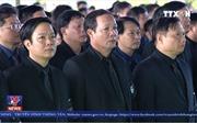 Lễ Quốc tang Chủ tịch nước Trần Đại Quang tại quê hương Ninh Bình