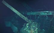 Tàu sân bay Thế chiến II gần như nguyên vẹn sau 7 thập kỷ 'ngủ yên' dưới đáy đại dương