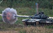 Trung Quốc 'nhái' xe tăng chủ lực T-90 của Nga để tập bắn