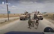 Lực lượng Mỹ chặn đầu xe tuần tra Nga tại Đông Bắc Syria