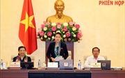 Phiên họp thứ 29 của Ủy ban Thường vụ Quốc hội khai mạc ngày 10/12