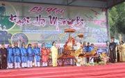 Tưng bừng Lễ hội Khai hạ Mường Bi ở Hòa Bình