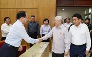Tổng Bí thư, Chủ tịch nước Nguyễn Phú Trọng tiếp xúc cử tri TP Hà Nội
