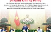Chính phủ nhất quán ưu tiên mục tiêu ổn định kinh tế vĩ mô