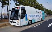 Hàn Quốc thử nghiệm xe buýt tự lái sử dụng mạng 5G