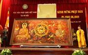 Ra mắt bức tranh 'Đạo pháp và dân tộc' nhân Lễ Phật đản và 129 năm ngày sinh Bác Hồ