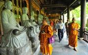 Đại biểu dự Đại lễ Vesak 2019 tham quan chùa Bái Đính