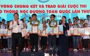Trao giải Cuộc thi 'Giao thông học đường' toàn quốc lần thứ IV