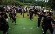 Đồng bào dân tộc 'Vui Tết Độc lập' tại Làng VHDL các dân tộc Việt Nam