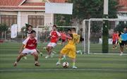 Khai mạc Giải bóng đá Thanh niên Việt Nam tại Lào lần thứ V