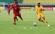 Cập nhật VCK U19 châu Á 2018: U19 Việt Nam bị dẫn trước trong hiệp 1