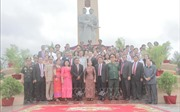 Khánh thành Đài Hữu nghị Việt Nam - Campuchia tại thành phố Kep