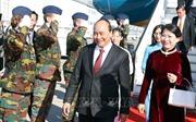 Thủ tướng Nguyễn Xuân Phúc đến Brussels
