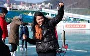 Đặc sắc lễ hội câu cá trên băng ở Hàn Quốc