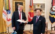 Tổng thống Donald Trump hé lộ thời điểm cuộc gặp thượng đỉnh Mỹ - Triều