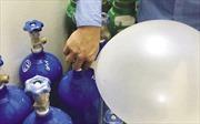 Bộ Y tế khuyến cáo: Không được sử dụng khí N2O với mục đích vui chơi giải trí