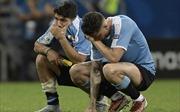 Copa America 2019: Uruguay bị loại sốc ở loạt 'đấu súng'