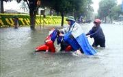 Miền Trung tiếp tục mưa to trong đêm 16/10 và ngày 17/10
