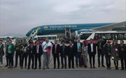 Đón vị khách quốc tế đầu tiên đến Hà Nội đầu năm 2019