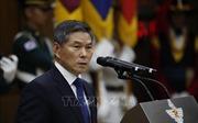 Bộ trưởng Quốc phòng Hàn Quốc, Mỹ, Nhật Bản hội đàm về Triều Tiên