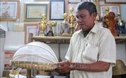 Lão nông Tư Quyết đưa sản phẩm mây tre Việt ra thế giới