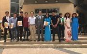 Lễ tốt nghiệp và trao chứng chỉ tốt nghiệp cho các sinh viên Việt Nam tại Israel