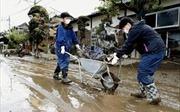 Nhật Bản: Cảnh báo mưa lớn cản trở công tác khắc phục hậu quả bão Hagibis