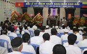 Đồng chí Trần Thanh Mẫn chúc mừng 93 năm Khai đạo Cao Đài