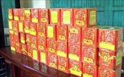 Bắt quả tang vận chuyển 66 kg pháo lậu từ Lào về Việt Nam