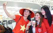 Cổ động viên lên đường 'tiếp lửa' cho đội tuyển bóng đá quốc gia