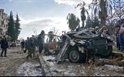 Đánh bom liều chết liên hoàn tại Syria, ít nhất 35 người thương vong