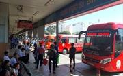 'Cháy' vé xe Tết các tuyến đi miền Trung, Tây Nguyên