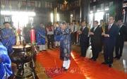 Tri ân gương sáng về tinh thần trung quân ái quốc của Đức Lễ Thành Hầu Nguyễn Hữu Cảnh