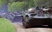 Hình ảnh quân đội Nga hừng hực khí thế tập trận lớn nhất 4 thập niên
