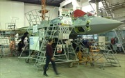 Video cận cảnh quá trình lắp ráp máy bay chiến đấu Su-57 tại Nga