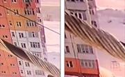 Người phụ nữ sống sót, tự đi lại sau khi rơi từ tầng 9 một tòa nhà