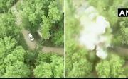 Video xe chở 40 kg chất nổ vụn vỡ tại Ấn Độ