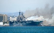 Hải quân Mỹ đập bỏ tàu chiến tỷ USD vì tiền sửa tốn hơn đóng mới