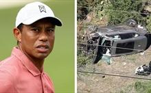 'Vua' golf Tiger Woods bị đa chấn thương chân trong tai nạn ô tô