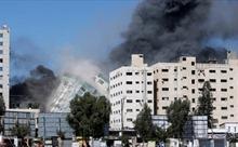 Israel đánh sập tòa nhà đặt văn phòng của AP và nhiều hãng tin quốc tế ở Gaza