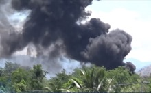 Ninh Thuận khống chế vụ cháy trong sân bay quân sự Thành Sơn