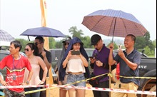 Các tay đua tranh tài trong Giải Đua xe ô tô địa hình Việt Nam 2020
